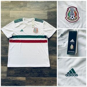 Adidas Mexico 2018 World Cup Away Soccer Jersey